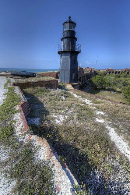 Garden Key Light (Tortugas Harbor) (Ft Jefferson
